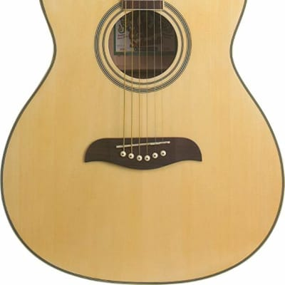 Oscar Schmidt OAN-A-U Auditorium Acoustic. Natural for sale