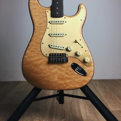 Fender 2019 Rarities Collection Quilt Maple Top Stratocaster, Rosewood Neck, Natural for sale