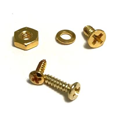 Les Paul Pickguard Screw Kit Gold