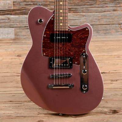 Reverend Double Agent OG Mulberry Mist LE w/Dark Roasted Maple Neck (CME Exclusive) USED