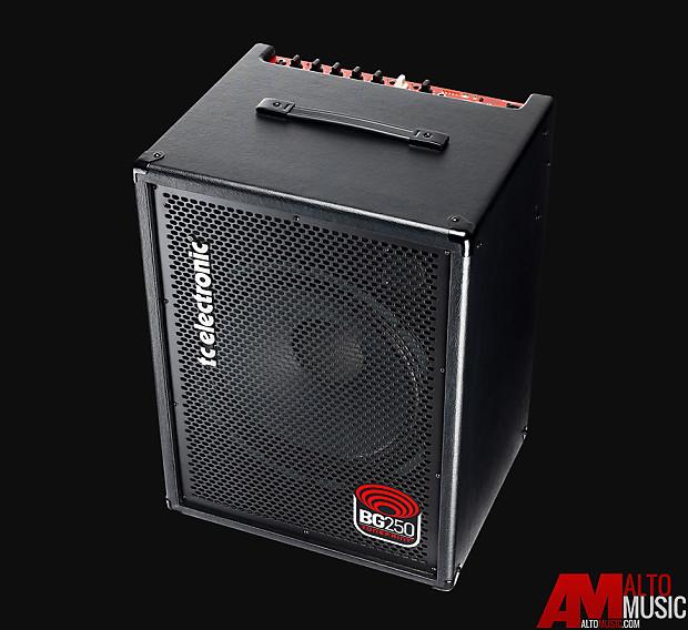 tc electronics bg250 115 mkii 250 watt bass combo reverb. Black Bedroom Furniture Sets. Home Design Ideas