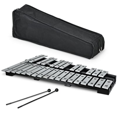 Other Aluminum Glockenspiel Xylophone 30 2020 Black + silver
