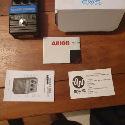 E.W.S Arion Sch-z Chorus Pedal EWS for sale