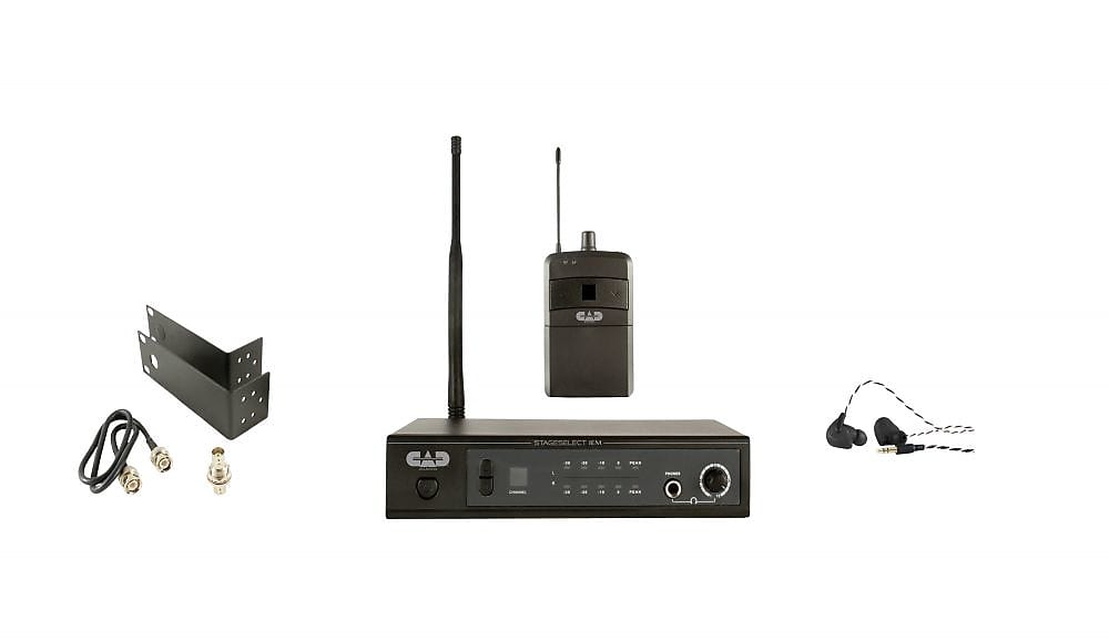 CAD CAD Stage Select IEM Stereo Wireless In Ear Monitor System
