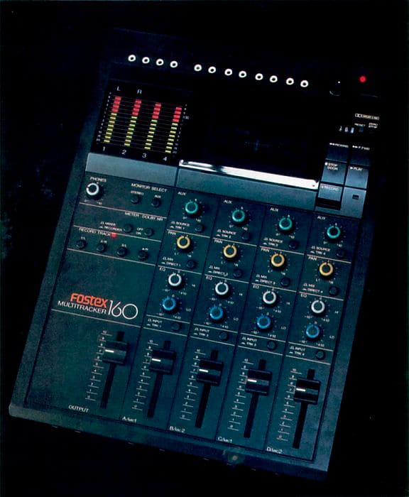 Fostex 160 Multitrack 4-track Cassette Recorder