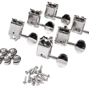 Fender 099-2074-002 Pure Vintage Stratocaster/Telecaster Tuning Heads Left-Handed (6)