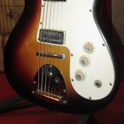 Vintage 1965 Kapa Challenger Sunburst for sale