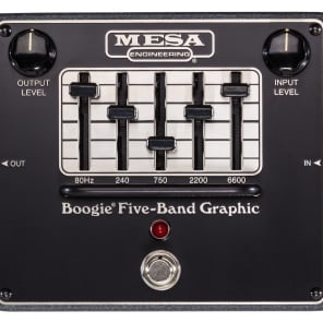 Mesa Boogie Boogie Five-band Graphic EQ Pedal for sale