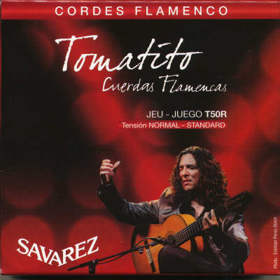 Savarez T50R - Tomatito Flamenco Guitar Strings - Normal Tension