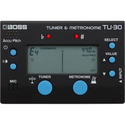 Boss TU-30 Digital Chromatic Tuner/Metronome for sale