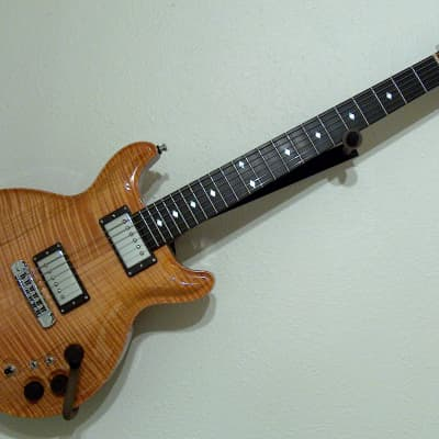 John Guilford Custom Crown model, Highly Figured Flame Maple Top with Rosewood Neck! Very Special! for sale