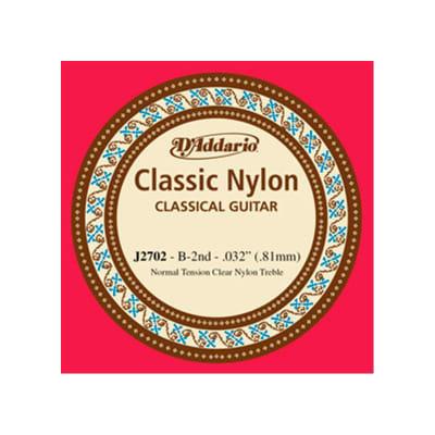 D´Addario Classical Guitar String J2702 B 2nd