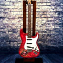 Fender   Fender Stratocaster Special Edition  Dave Lozeau 2016 Red/Sacred Heart