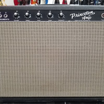 Pristine Vintage Fender Princeton 1965 Blackface for sale