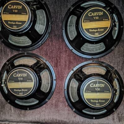 Carvin 10inch Guitar Speakers V10 80's Black