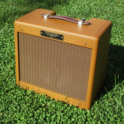 Carl's Custom Amps Classic Tweed Champ Dark Tweed Best Champ out there! for sale