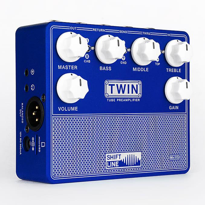 Shift Line Twin MKIIIS Mark 3S Tube Guitar Preamp Preamplifier Impulse  Response IR Cabinet Simulator