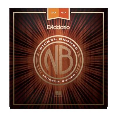 D'Addario NB1047 Extra Light Nickel Bronze 10-47