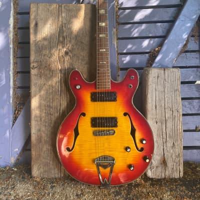 Firstman Byrdland special  1969 Sunburst vintage hollowbody mij for sale