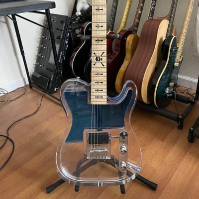 Fedden Wavecaster Telecaster 2012 Blue Dye for sale