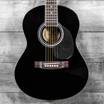 J. Reynolds JR14-BK 3/4 Acoustic Guitar Black for sale
