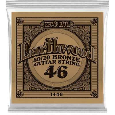 Ernie Ball P01446 .046 Earthwood 80/20 Bronze Acoustic Guitar String