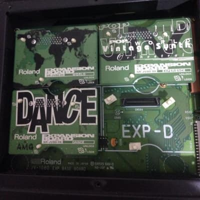 Roland JV-1080 + 2 Expansion Board (World-Experience) via UPS Express