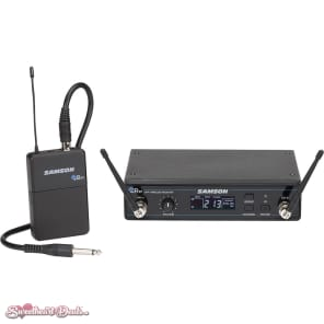 Samson Concert 99 Frequency-Agile UHF Wireless Guitar System - D Band (542–566 MHz)