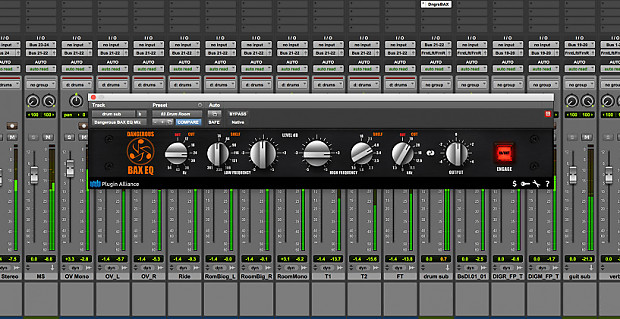 New Plugin Alliance Dangerous Music BAX EQ Equalizer Plug-In Software  Mac/PC - Download Software