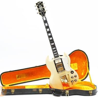 Gibson Les Paul (SG) Custom with Sideways Vibrola 1961 - 1962