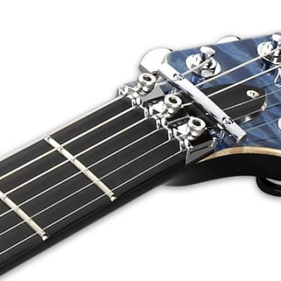 ESP Horizon FR CTM Electric Guitar in Faded Sky Blue for sale