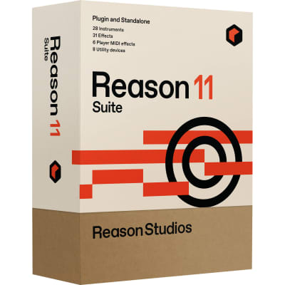 New Propellerhead Reason 11 Suite Music Production Software
