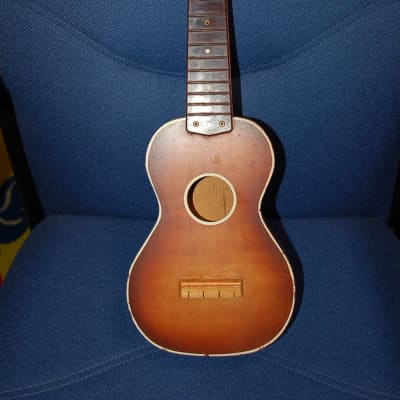 1965 Harmony Soprano Ukulele Parts Project Plastic Fretboard Easy Fixes for sale