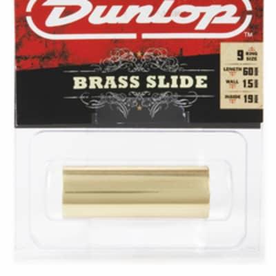 Dunlop 222 Brass Guitar Slide, Medium Wall Thickness - Medium