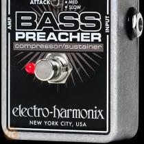 Electro-Harmonix Bass Preacher 2010s Black image