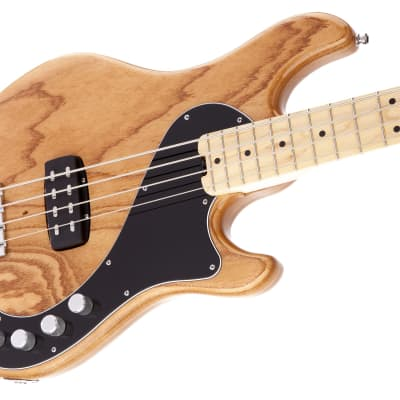 Fender American Deluxe Dimension Bass IV Electric Bass Guitar, Maple Fingerboard, Natural W/Case for sale