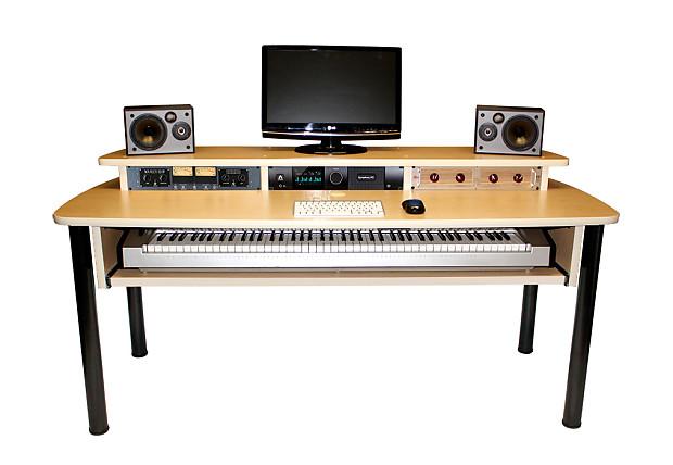 Studio Desk Excel Recording Studio Desk Maple Reverb