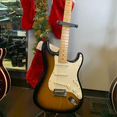 Fender Stratocaster USA 50th Anniversary  2004 Brown Sunburst