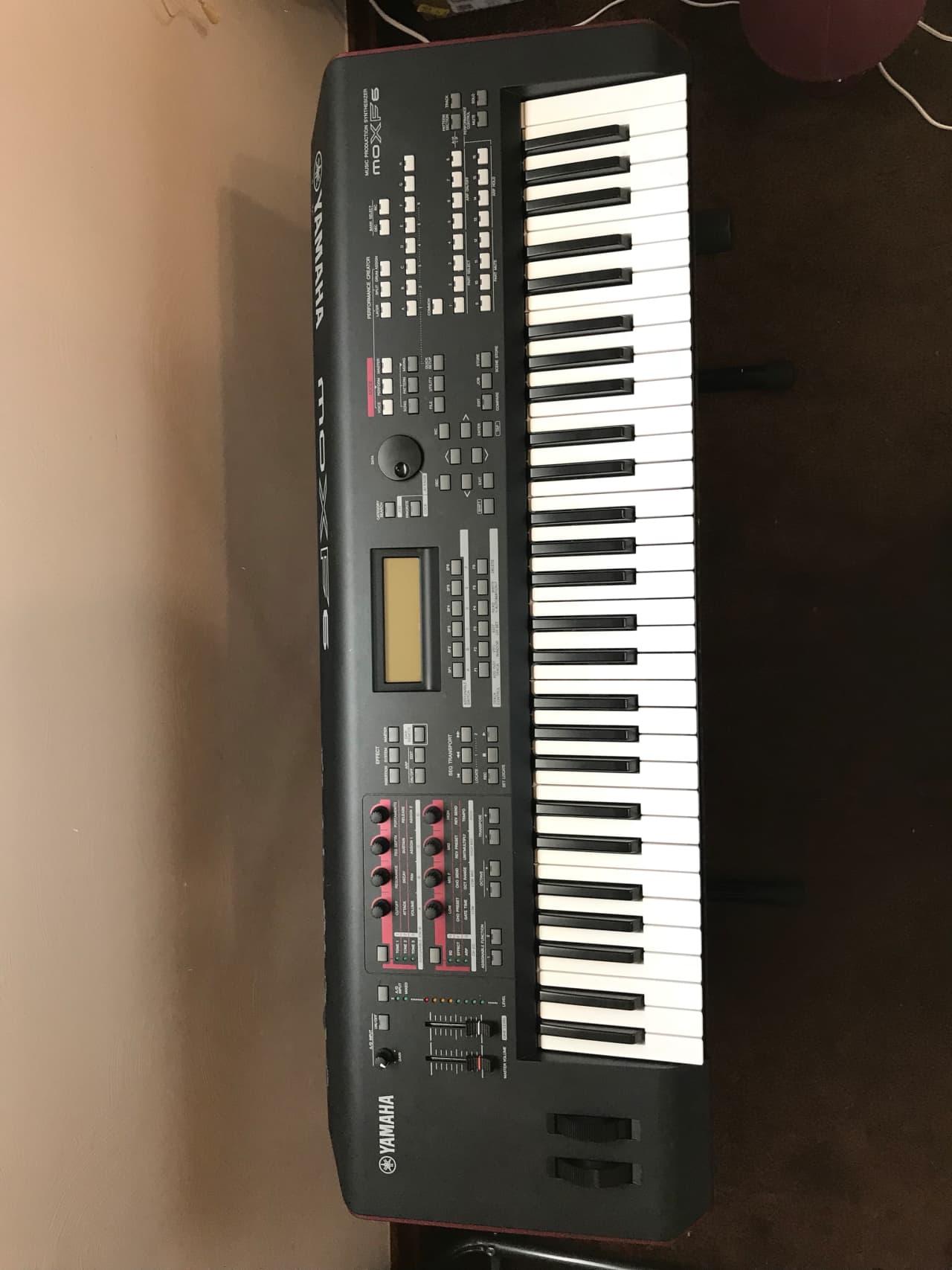 yamaha moxf6 with 1 gig flash installed extra sounds