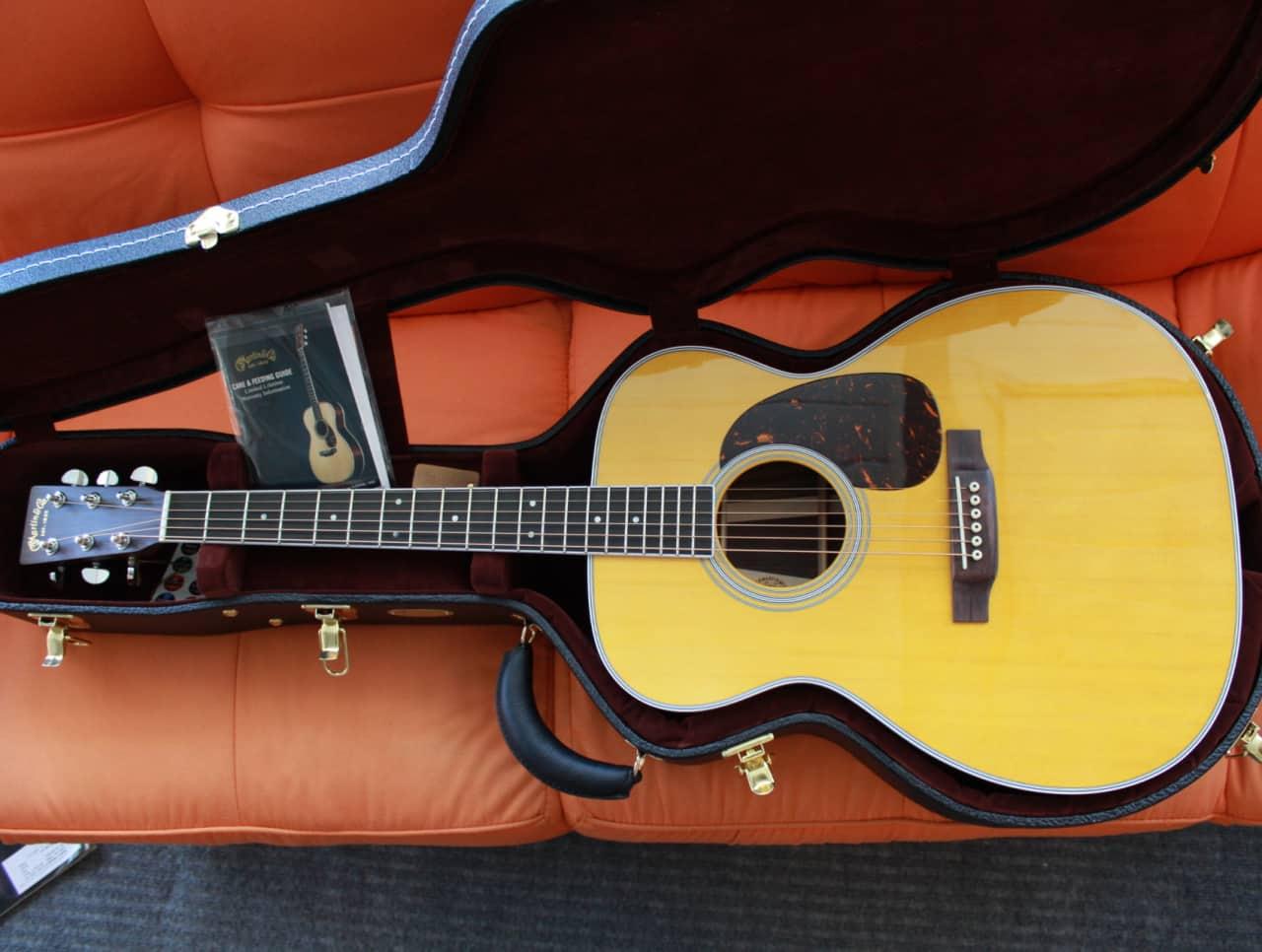 martin m36 2017 acoustic guitar w case new reverb. Black Bedroom Furniture Sets. Home Design Ideas