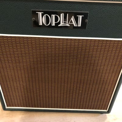 TopHat Vibra-trem 20 amplifier Green (class A) for sale
