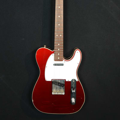 Fender  Custom Shop '60s Tele Custom, Original Case 2004 Candy Apple Red for sale