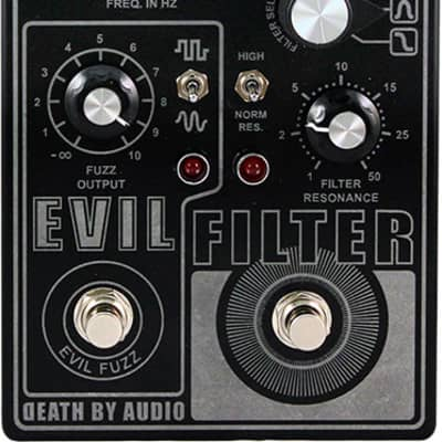 Death By Audio Evil Filter Pedal