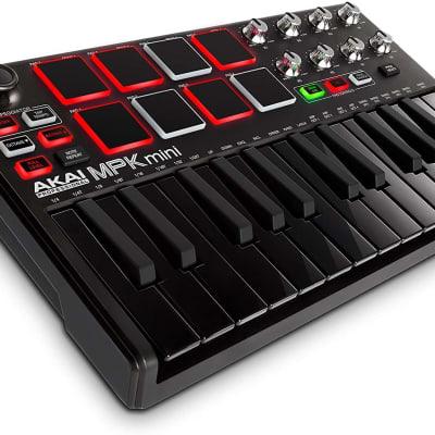 Akai Pro MPK Mini MKII Controller Limited Edition Black on Black
