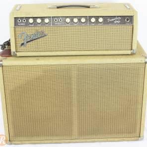 "Fender Tremolux 6G9-B 30-Watt 2x10"" Piggyback Guitar Amp 1960 - 1963"
