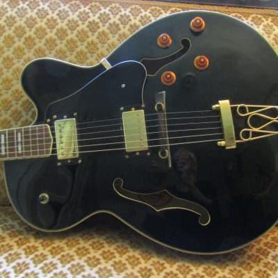 Oscar Schmidt OE40-B Semi-Hollow Black for sale