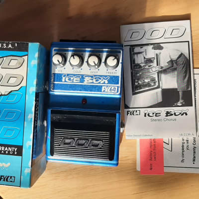 DOD FX 64 Ice Box Chorus ( Jason Lamb era ) for sale