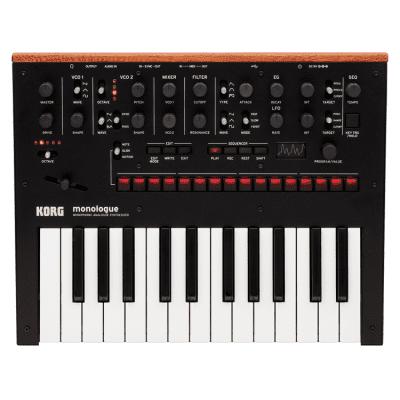 Korg Monologue Monophonic Analogue Synthesizer Black
