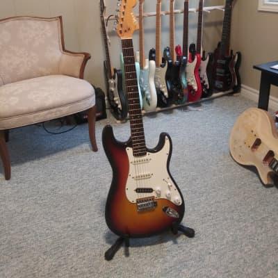 Matsumoku Pan Stratocaster 60's sunburst for sale
