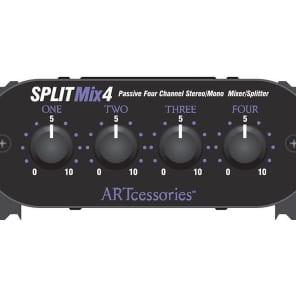 ART SplitMix 4 Passive Splitter/Mixer